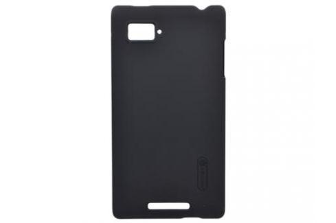 Чехол для смартфона Lenovo K910 (VIBE Z) Nillkin Super Frosted Shield Черный Сумки