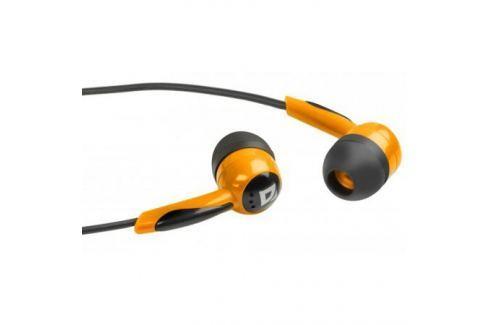 Наушники Defender Basic-604 Orange кабель 1,1 м Микрофоны и наушники