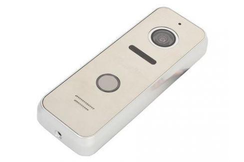 Вызывная панель Falcon Eye FE-ipanel 3 silver 4-х проводная; антивандальная накладная видеопанель; с Led подветкой до 1м, матрица CMOS, 800 ТВл, 12В, Комплектующие к домофонам
