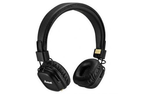 Наушники (гарнитура) Marshall Major II Bluetooth 04091378 Black Беспроводные, проводные / Накладные с микрофоном / Черный / 10 Гц - 20 кГц / 99 дБ / Одностороннее / до Микрофоны и наушники