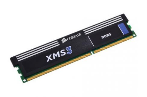 Оперативная память Corsair XMS3 DDR3 4Gb, PC12800, DIMM, 1600MHz (CMX4GX3M1A1600C11) with Classic Heat Spreader Оперативная память