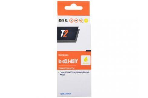 Картридж T2 CCLI-451Y XL (с чипом) Картриджи и расходные материалы