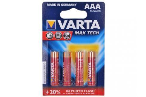 Батарейки VARTA MAX TECH AAA бл 4 Зарядные устройства и аккумуляторы