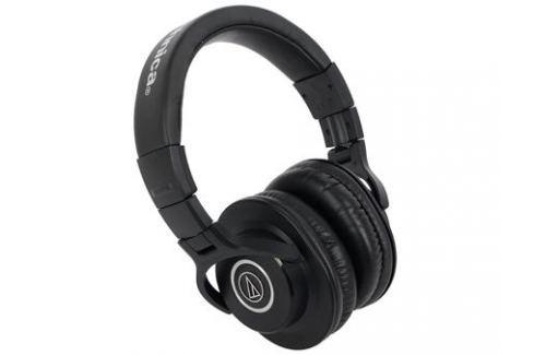 Наушники Audio-Technica ATH-M40X Проводные / Накладные / Черный / 15 Гц - 24 кГц / 98 дБ / Одностороннее / Mini-jack / 3.5 мм Микрофоны и наушники