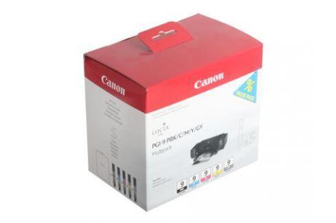 Картридж Canon PGI-9 PBK/C/M/Y/GY для PIXMA Pro9500. Фотокартридж чёрный, голубой, пурпурный, жёлтый, серый. Картриджи и расходные материалы