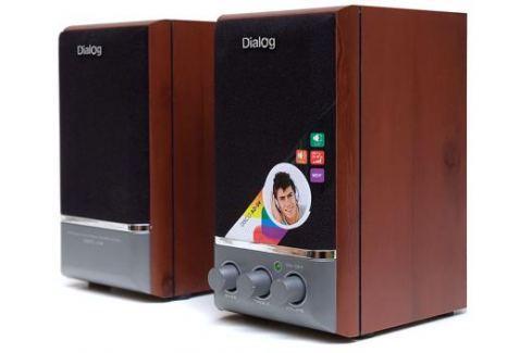 Колонки Dialog Disco AD-04 Cherry 16W RMS-2.0 Акустические системы