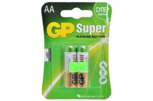 Батарея GP 15A 2шт. Super Alkaline (AA) Зарядные устройства и аккумуляторы