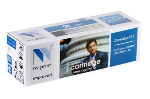 Картридж NV-Print совместимый Canon 712 для i-SENSYS LBP 3010/3100/HP LJ P1005. Чёрный. 1500 страниц. Картриджи и расходные материалы