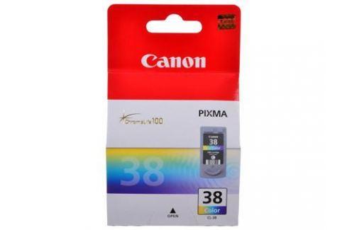 Картридж Canon CL-38 для Pixma iP 1800/2500/1900/2600, MX 300/310, MP 190/210/220/140. Трехцветный. 207 страниц. Картриджи и расходные материалы