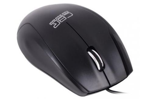 Мышь CBR CM-307 Black, 1200 dpi, провод 1,3м, USB Мыши