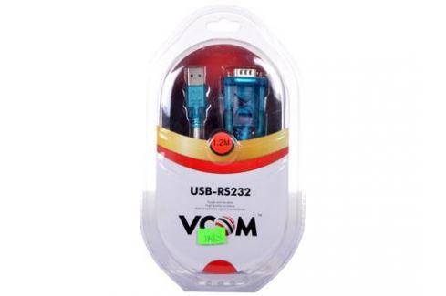 Кабель-адаптер USB AM - COM port 9pin (добавляет в систему новый COM порт) VCOM (VUS7050) Кабели и переходники