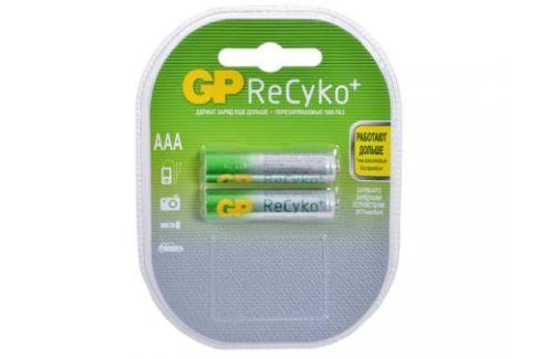 Аккумуляторы GP ReCyko 2шт, AAA, 850mAh, NiMH (85AAAHCB-C2) Зарядные устройства и аккумуляторы