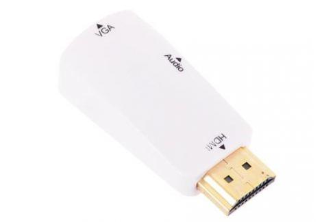 Адаптер HDMI M-VGA 15F+Audio ORIENT C119 Кабели и переходники