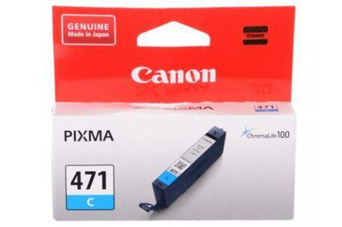 Картридж Canon CLI-471 C для MG5740, MG6840, MG7740. Голубой. 320 страниц. Картриджи и расходные материалы