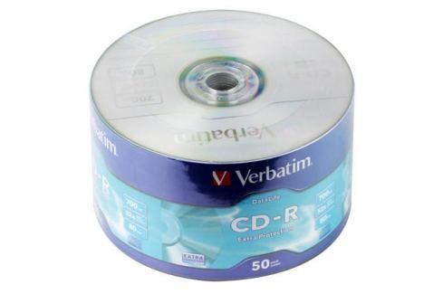 CD-R Verbatim 700Mb 52x 50шт Shrink 43787 Диски, дискеты