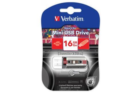 Флешка USB 16Gb Verbatim Mini Cassette Edition 49397 USB черный Флешки