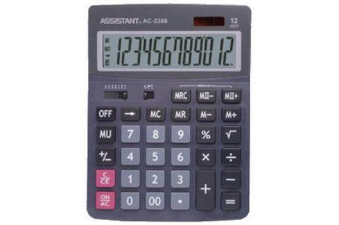 Калькулятор 12-разр., дв. питание, дв. память, черный пластик, большой дисплей, разм.206х155х35 мм A Калькуляторы