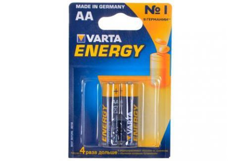 Батарейки VARTA Energy AA блистер 2 (рус) 04106213412 Зарядные устройства и аккумуляторы