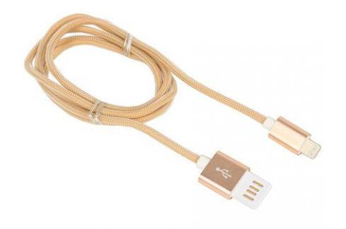 Кабель USB 2.0 Cablexpert, AM/Lightning 8P, 1м золотой металлик Кабели и переходники