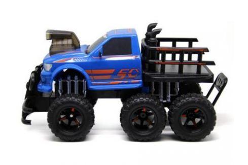 Внедорожник на радиоуправлении Пламенный мотор Автогиганты 6*6 синий от 4 лет пластик 87581 Радиоуправляемые модели