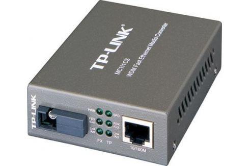 Медиаконвертер TP-LINK MC111CS 10/100M RJ45 to 100M single-mode, Full-duplex, up to 20Km Сетевые адаптеры/ Хабы/роутеры/маршрутизаторы/коммутаторы