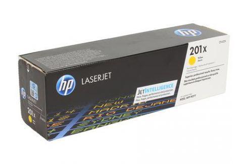 Картридж HP CF402X для LaserJet Pro M252n/M252dw, Жёлтый. 2300 страниц. (HP 201X) Картриджи и расходные материалы