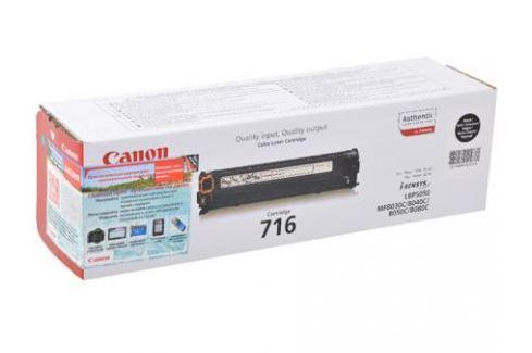 Картридж Canon 716 BK для LBP-5050 / 5050N, MF8030CN / 8050CN. Чёрный. 2300 страниц. Картриджи и расходные материалы