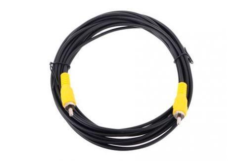 Кабель соединительный RCA (M) - RCA (M) черный 5m, Telecom (TAV4158-5M) Кабели и переходники