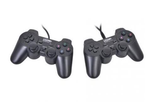 Геймпад 3Cott Двойной GP-02 12 кнопок, вибрация, USB, черный Джойстики и геймпады