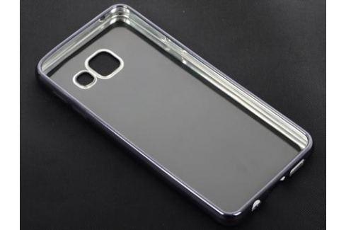 Силиконовый чехол с рамкой для Samsung Galaxy A3 (2016) DF sCase-22 (space gray) Сумки