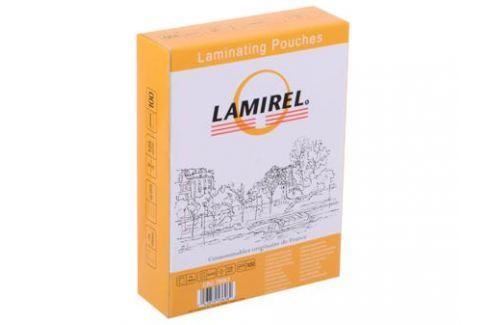 Плёнка для ламинирования Lamirel (LA-78663) 75x105 мм, 125 мкм, глянцевая, 100 шт. Картриджи и расходные материалы