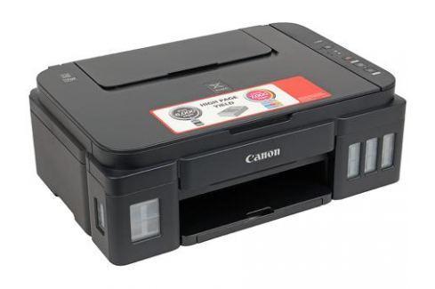 МФУ Canon PIXMA G2400 (Струйный, СНПЧ, 4800x1200, 8,8 изобр./мин для ч/б, 5,0 изобр./мин для цветной, A4, A5, B5, LTR, конверт, фотобумага: 13x18 см, Многофункциональные устройства