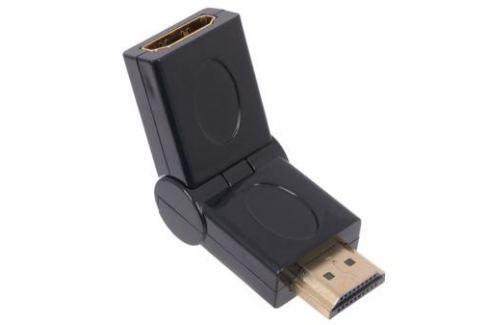 Переходник Orient C070 HDMI F - HDMI M, поворот 180 град, позолоч.разъемы Кабели и переходники