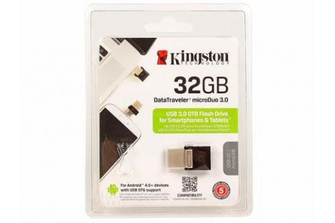 USB флешка Kingston DTDUO3 32GB (DTDUO3/32GB) Флешки