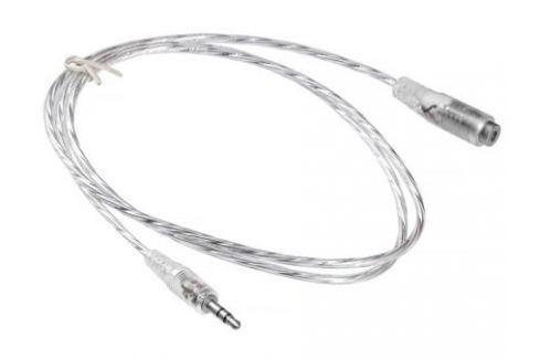 Кабель-удлинитель аудио Buro Jack 3.5 (m)/Jack 3.5 (f) 0.5м. прозрачный (CAB025-0.5M) Кабели и переходники