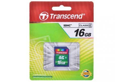 SDHC Transcend 16Gb Class 4 (TS16GSDHC4) Карты памяти