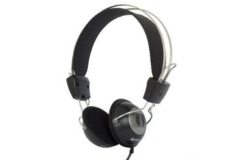 Гарнитура A4Tech HS-23 черный Микрофоны и наушники