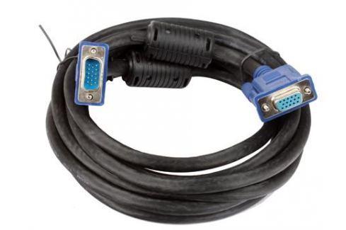 Кабель удлинительный Монитор-SVGA card (15M-15F) 3m 2 фильтра VCOM [VVG6460-3M] Кабели и переходники