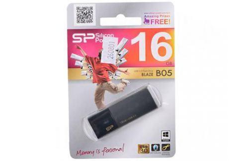 USB флешка Silicon Power Blaze B05 Black 16GB (SP016GBUF3B05V1K) Флешки