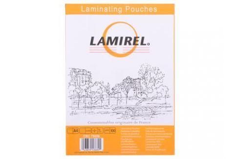 Плёнка для ламинирования Lamirel A4 (LA-78656) 216x303 мм, 75 мкм, глянцевая, 100 шт. Картриджи и расходные материалы