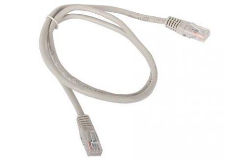 Сетевой кабель 1м UTP 5е, литой patch cord серый Aopen [ANP511_1M] Кабели и переходники