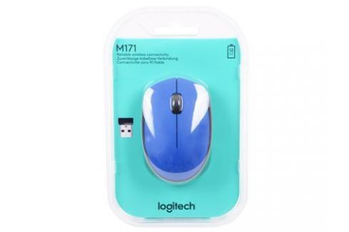Мышь (910-004640) Logitech Wireless Mouse M171, Blue Мыши