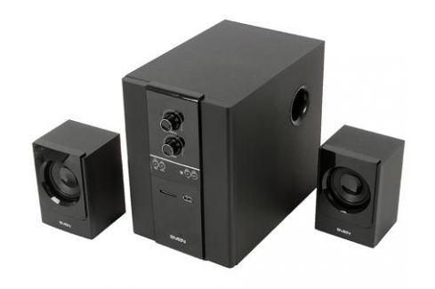 Колонки Sven MS-1820 2 x11+18Вт Встроенный FM-тюнер USB flash, SD card Акустические системы