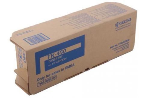 Тонер Kyocera TK-450 для FS-6970DN. Чёрный. 15000 страниц. Картриджи и расходные материалы