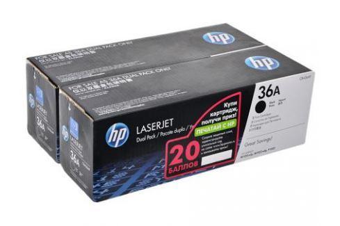 Картридж HP CB436AF двойная упаковка LJ M1120/M1520/P1505 черный 4000 страниц Картриджи и расходные материалы