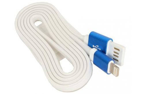 Кабель USB 2.0 Cablexpert, AM/Lightning 8P, 1м, синий металлик Кабели и переходники