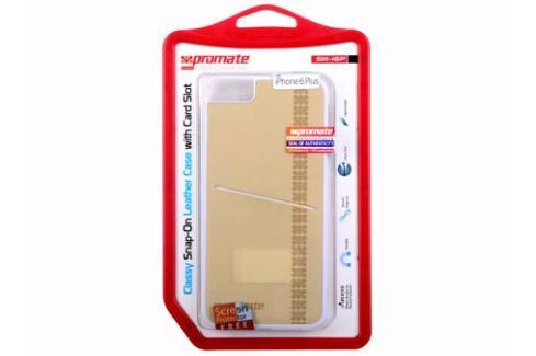 Накладка для iPhone 6 Plus Promate Slit-i6P кремовый Сумки