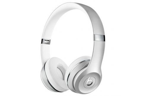Наушники Apple Beats Solo 3 WL серебристые MNEQ2ZE/A Микрофоны и наушники