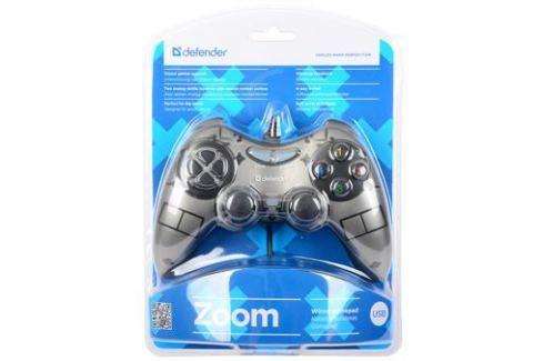 Геймпад Defender Zoom USB Xinput, 10 кнопок, 2 стика Джойстики и геймпады