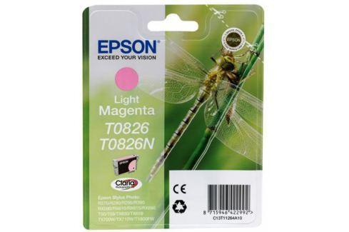Картридж Epson Original T08264A для R270/390/RX590 светло-пурпурный т(C13T11264A10) Картриджи и расходные материалы